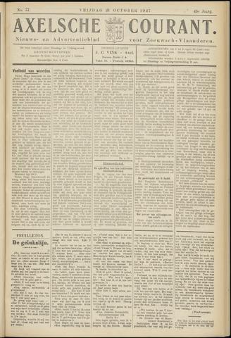 Axelsche Courant 1927-10-21