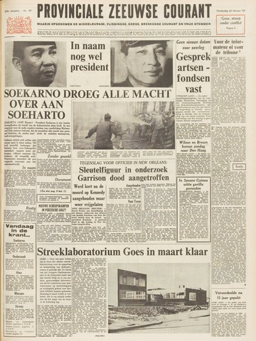 Provinciale Zeeuwse Courant 1967-02-23