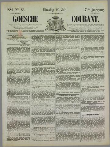 Goessche Courant 1884-07-22