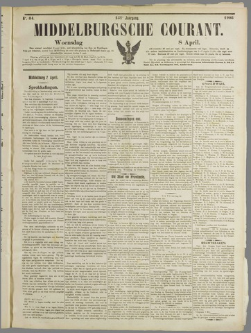 Middelburgsche Courant 1908-04-08