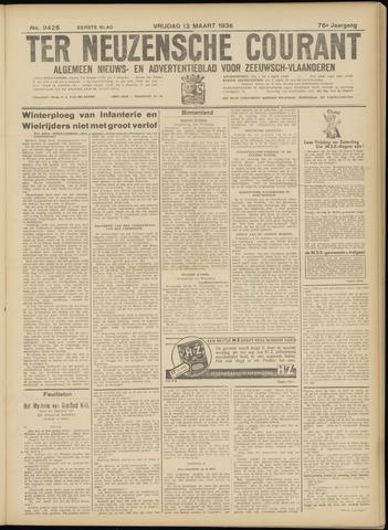 Ter Neuzensche Courant. Algemeen Nieuws- en Advertentieblad voor Zeeuwsch-Vlaanderen / Neuzensche Courant ... (idem) / (Algemeen) nieuws en advertentieblad voor Zeeuwsch-Vlaanderen 1936-03-13