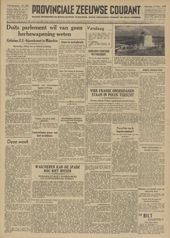 Provinciale Zeeuwse Courant 1949-12-17