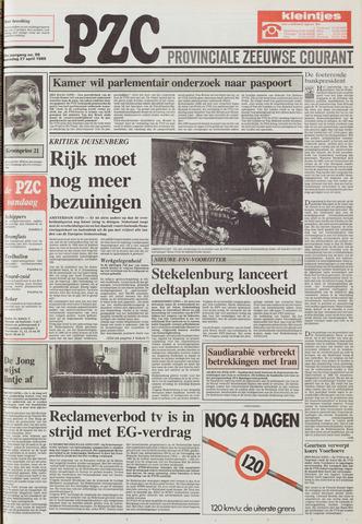Provinciale Zeeuwse Courant 1988-04-27