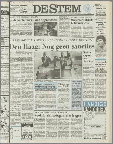 de Stem 1985-07-26
