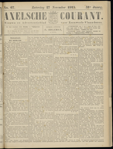 Axelsche Courant 1915-11-27
