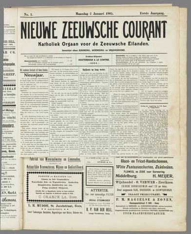 Nieuwe Zeeuwsche Courant 1905-01-02