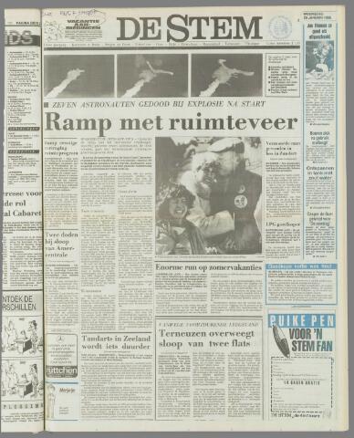 de Stem 1986-01-29