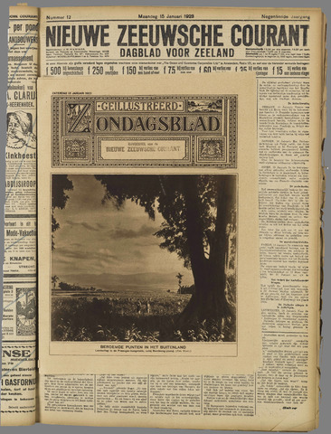 Nieuwe Zeeuwsche Courant 1923-01-15