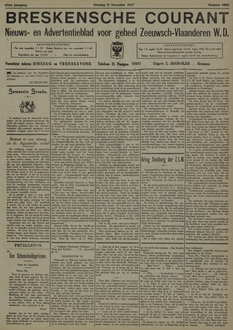 Breskensche Courant 1937-12-21