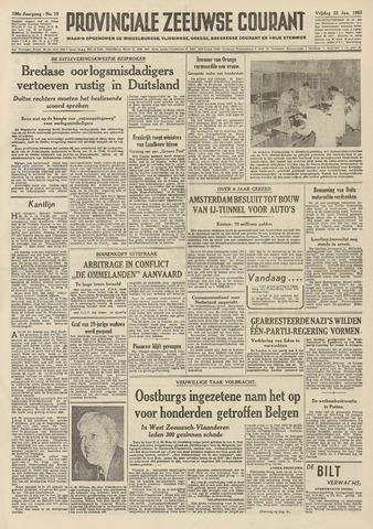 Provinciale Zeeuwse Courant 1953-01-23