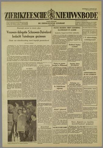 Zierikzeesche Nieuwsbode 1960-02-11