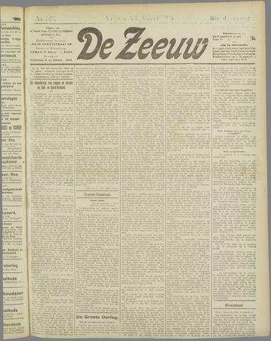 De Zeeuw. Christelijk-historisch nieuwsblad voor Zeeland 1917-03-23