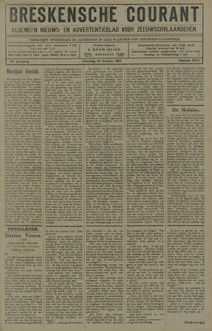 Breskensche Courant 1923-10-20