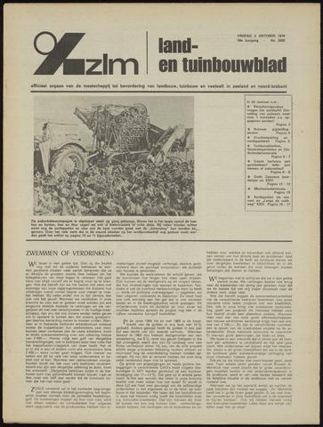 Zeeuwsch landbouwblad ... ZLM land- en tuinbouwblad 1970-09-30