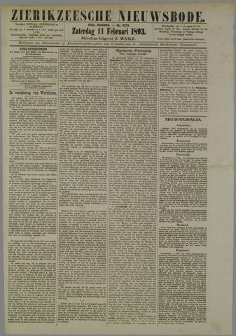 Zierikzeesche Nieuwsbode 1893-02-11