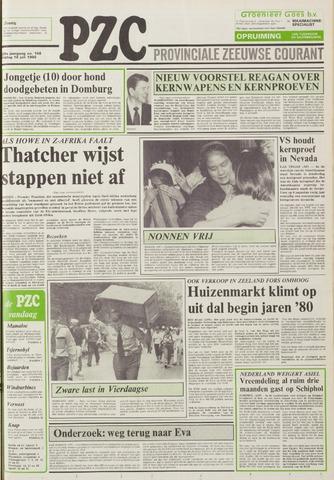 Provinciale Zeeuwse Courant 1986-07-18