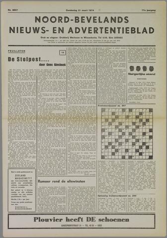Noord-Bevelands Nieuws- en advertentieblad 1974-03-21