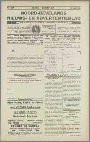 Noord-Bevelands Nieuws- en advertentieblad 1935-12-14