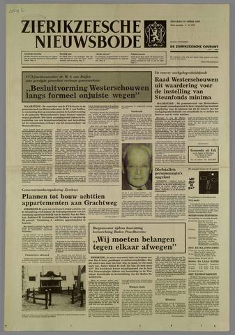 Zierikzeesche Nieuwsbode 1985-04-16