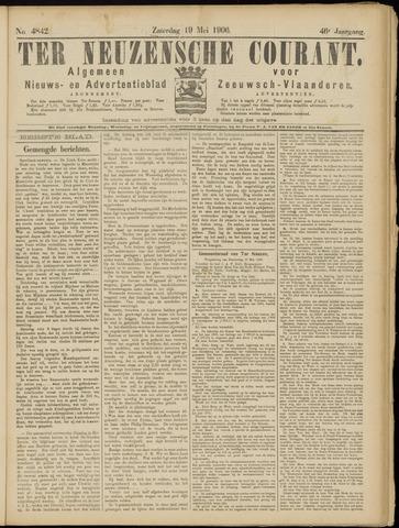Ter Neuzensche Courant. Algemeen Nieuws- en Advertentieblad voor Zeeuwsch-Vlaanderen / Neuzensche Courant ... (idem) / (Algemeen) nieuws en advertentieblad voor Zeeuwsch-Vlaanderen 1906-05-19