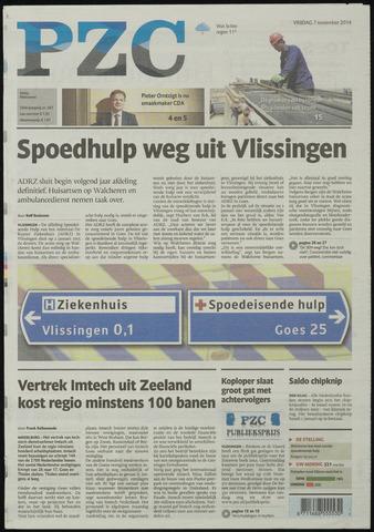 Provinciale Zeeuwse Courant 2014-11-07