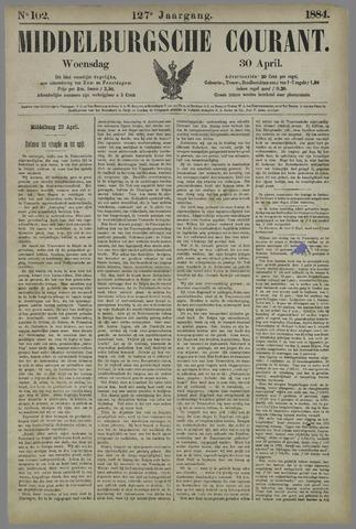Middelburgsche Courant 1884-04-30