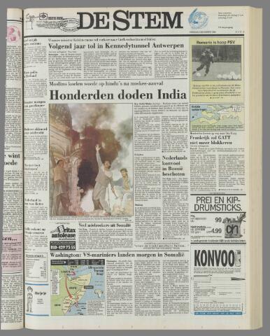 de Stem 1992-12-08