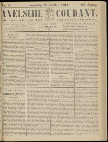 Axelsche Courant 1913-10-29