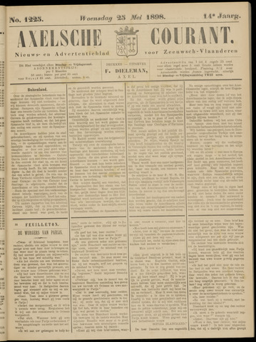 Axelsche Courant 1898-05-25