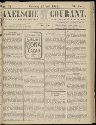 Axelsche Courant 1912-07-27