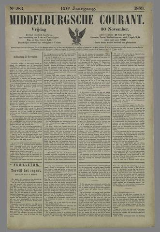 Middelburgsche Courant 1883-11-30