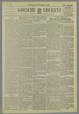 Goessche Courant 1919-02-20
