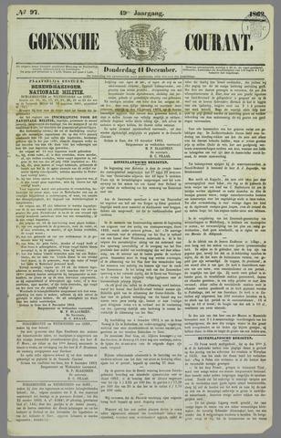 Goessche Courant 1862-12-11
