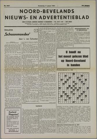 Noord-Bevelands Nieuws- en advertentieblad 1980-01-17