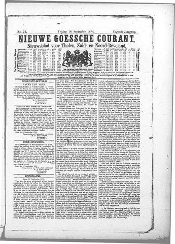 Nieuwe Goessche Courant 1874-09-18