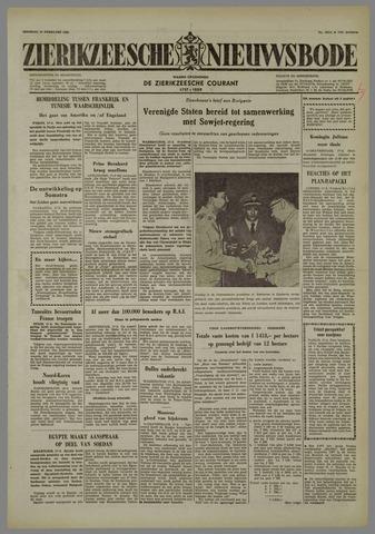 Zierikzeesche Nieuwsbode 1958-02-18