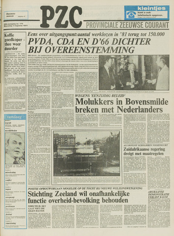 Provinciale Zeeuwse Courant 1977-08-03