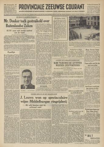 Provinciale Zeeuwse Courant 1952-08-22