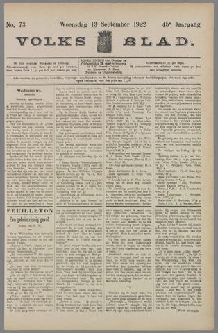Volksblad 1922-09-13