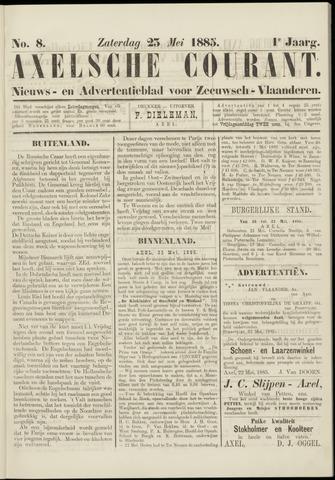 Axelsche Courant 1885-05-23