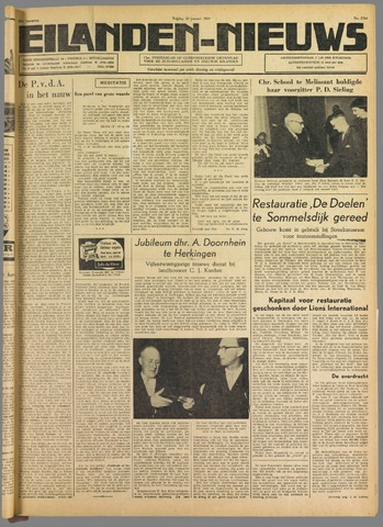 Eilanden-nieuws. Christelijk streekblad op gereformeerde grondslag 1959-01-23