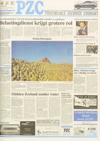 Provinciale Zeeuwse Courant 2003-11-08