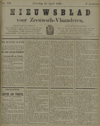 Nieuwsblad voor Zeeuwsch-Vlaanderen 1896-04-25