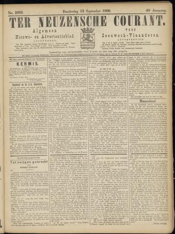 Ter Neuzensche Courant. Algemeen Nieuws- en Advertentieblad voor Zeeuwsch-Vlaanderen / Neuzensche Courant ... (idem) / (Algemeen) nieuws en advertentieblad voor Zeeuwsch-Vlaanderen 1900-09-13