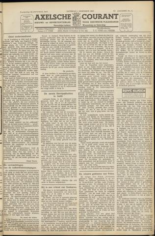 Axelsche Courant 1947-11-01