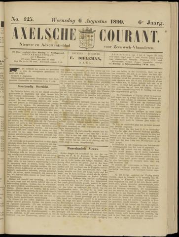 Axelsche Courant 1890-08-06