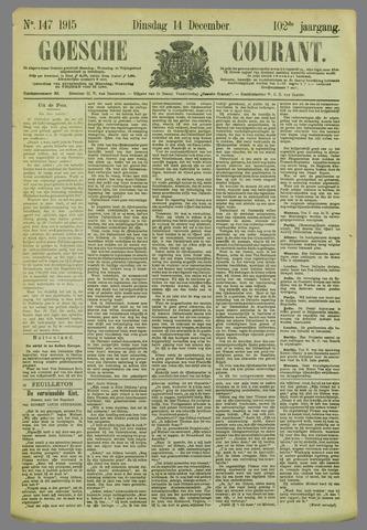 Goessche Courant 1915-12-14