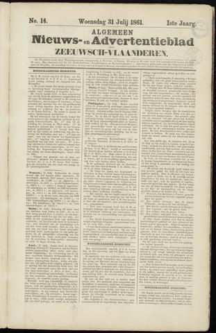 Ter Neuzensche Courant. Algemeen Nieuws- en Advertentieblad voor Zeeuwsch-Vlaanderen / Neuzensche Courant ... (idem) / (Algemeen) nieuws en advertentieblad voor Zeeuwsch-Vlaanderen 1861-07-31
