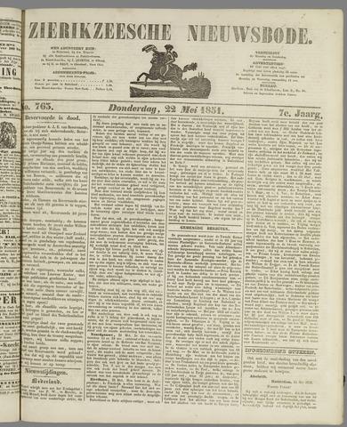 Zierikzeesche Nieuwsbode 1851-05-22