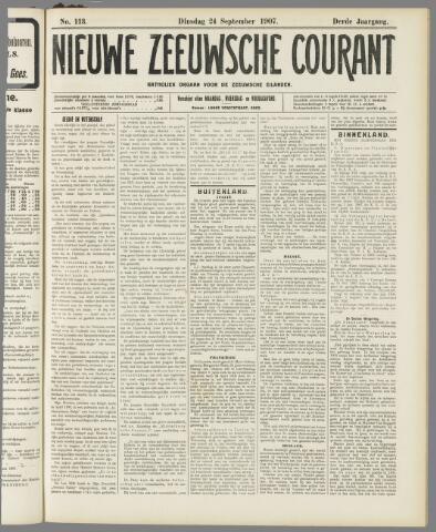 Nieuwe Zeeuwsche Courant 1907-09-24